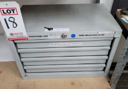 MEYER PIN GAGES, 4-DRAWER CABINET/SET, **IMMEX REGISTERED EQUIPMENT (NEEDS TO RETURN TO THE US)