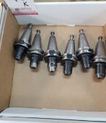 """LOT - (6) BT-35 TOOL HOLDERS, 3/8"""" SOLID, **IMMEX REGISTERED EQUIPMENT (NEEDS TO RETURN TO THE US)"""