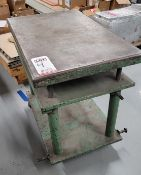 """ADJUSTABLE HEIGHT TABLE, 36"""" X 24"""", **IMMEX REGISTERED EQUIPMENT (NEEDS TO RETURN TO THE US)"""