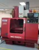 1989 MATSUURA MC-510V VERTICAL MACHINING CENTER, YASNAC CONTROL S/N 890307287 (PARTS ONLY), **
