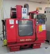 1991 MATSUURA MC-510V VERTICAL MACHINING CENTER, YASNAC CONTROL S/N 910609401, **IMMEX REGISTERED