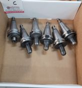 """LOT - (6) BT-35 TOOL HOLDERS: (3) 1/8"""" SOLID AND (3) 3/16"""" SOLID, **IMMEX REGISTERED EQUIPMENT ("""