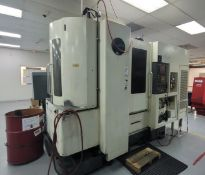 KITAMURA MYCENTER-HX300iF HORIZONTAL MACHINING CENTER, FANUC SERIES 16I-MB CNC CONTROL, 20000 RPM