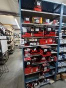 LOT - CONTENTS ONLY OF (1) 3' WIDE SECTION OF STOCK RACK, TO INCLUDE FUEL PUMPS AND FUEL FILTERS