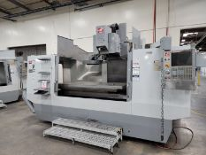 """2006 HAAS VR-9 VERTICAL MACHINING CENTER, 5-AXIS ARTICULATING HEAD, XYZ TRAVELS: 84"""" X, 40"""" Y, 30"""""""