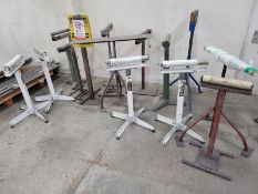 LOT - MATERIAL STANDS