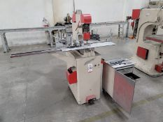DI-ACRO POWER PUNCH PRESS, NO. 2, S/N 1246, W/ (3) DRAWERS OF PUNCH TOOLING