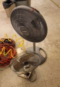 LOT - (2) SMALL FANS