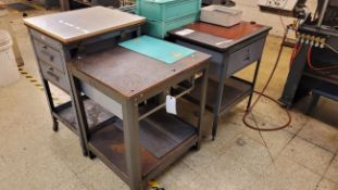 LOT - (4) SMALL TABLES