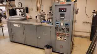 V-MET V-16-C VACUUM BRAZING FURNACE, 220 DEGREE, UPGRADED ELECTRONICS, S/N S-61