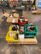 LOT - PALLET OF ASSORTED OIL AND GREASE