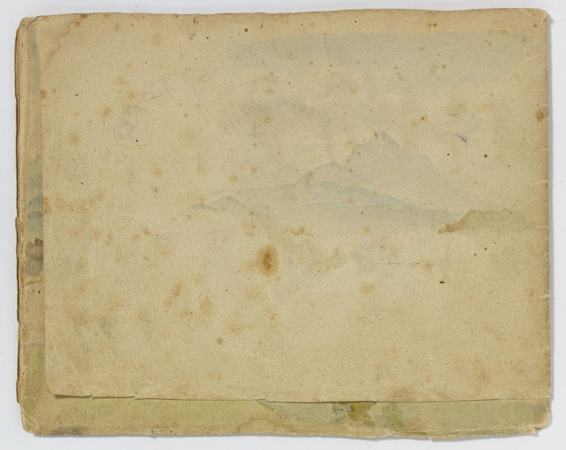 Kaupert, Gustav Kassel 1819 - 1897  Sketchbook, two booklets, each ca. 17 pages. Architectural - Bild 6 aus 8