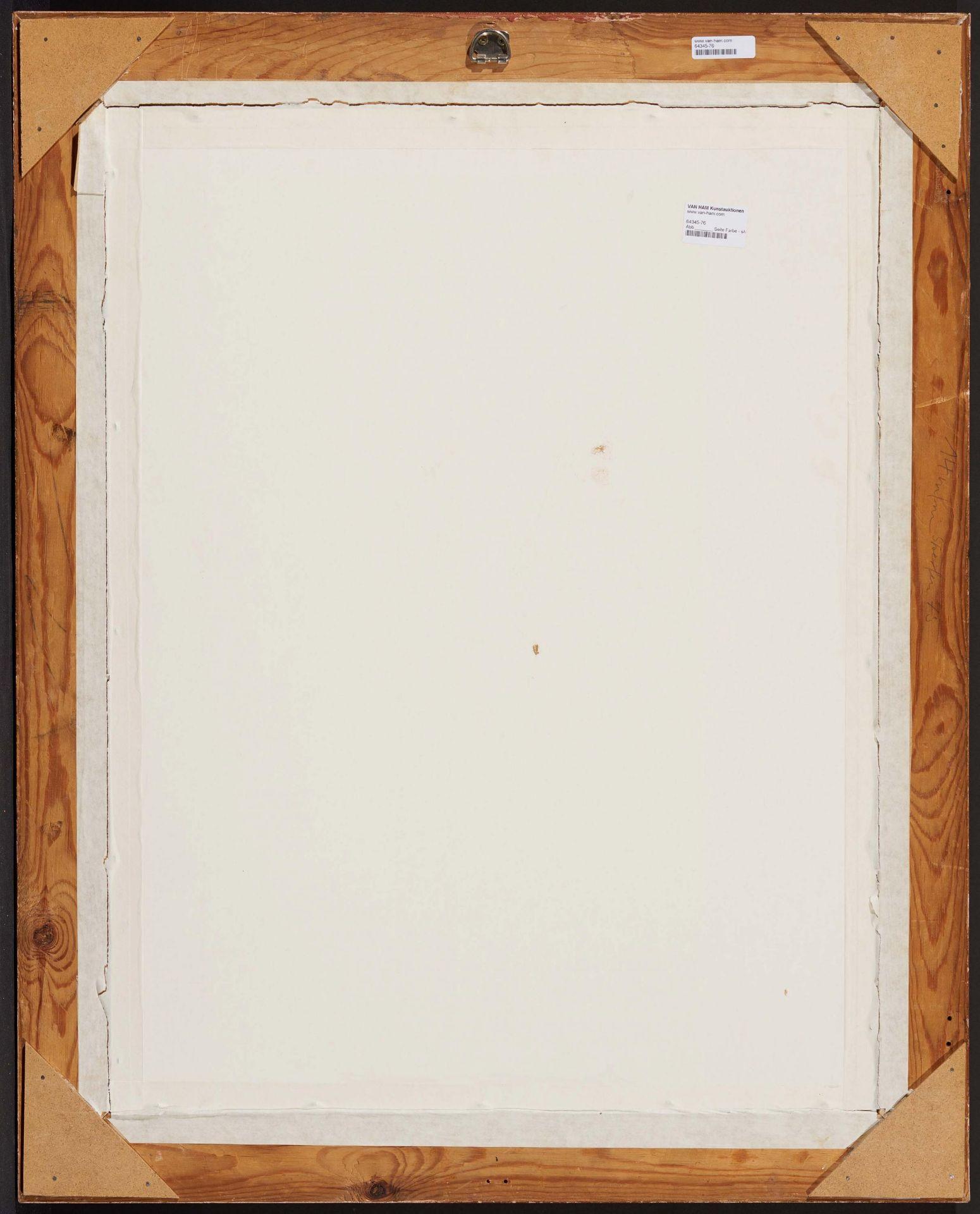 Beckert, Fritz. 1877 Leipzig - 1962 Dresden. Die Frauenkriche in Dresden. Aquarell auf Papier. - Bild 3 aus 4
