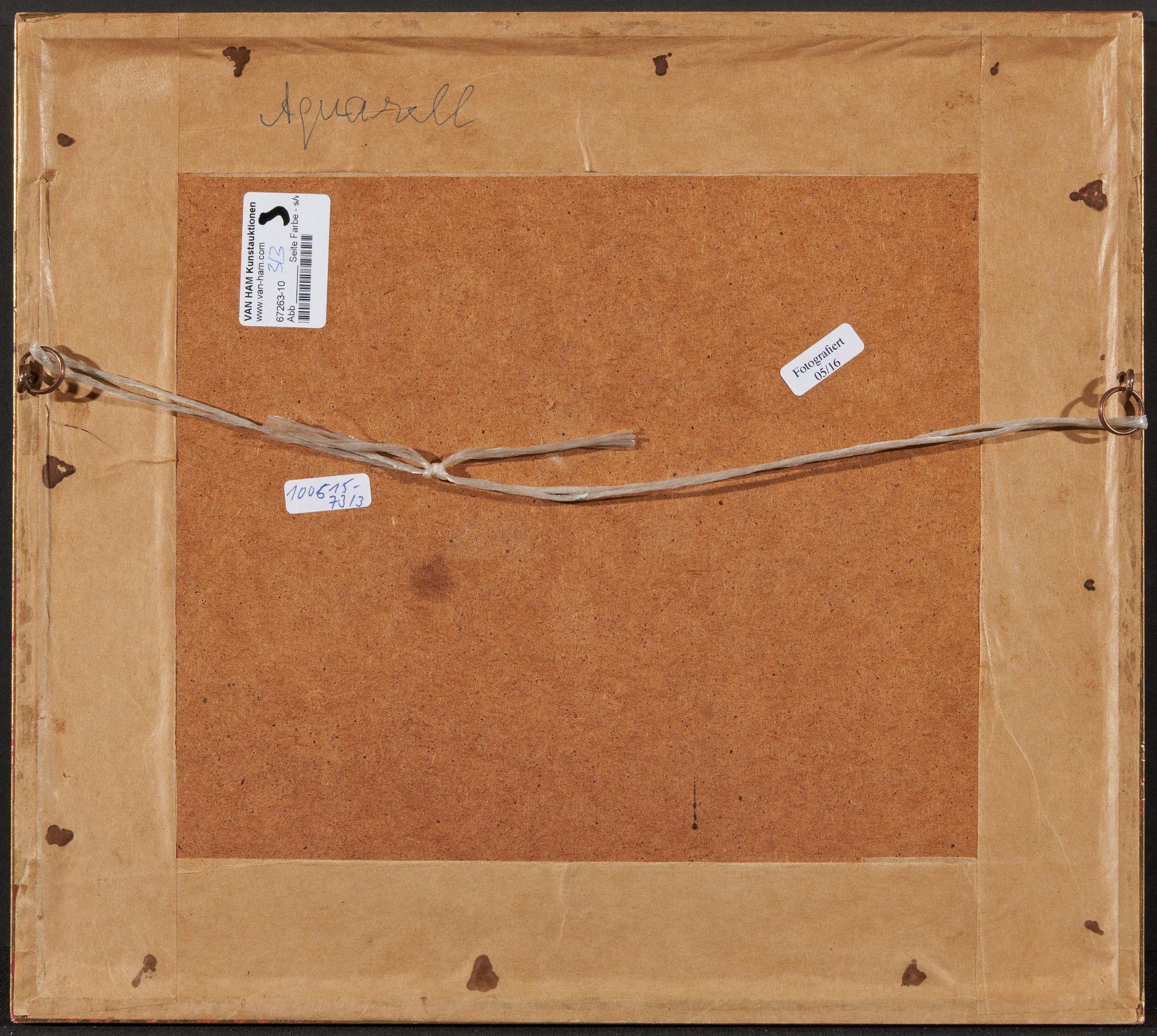 Englischer Meister. um 1900. Drei Aquarelle: Gänse und Enten. Jeweils: Aquarell auf Papier. - Bild 10 aus 11