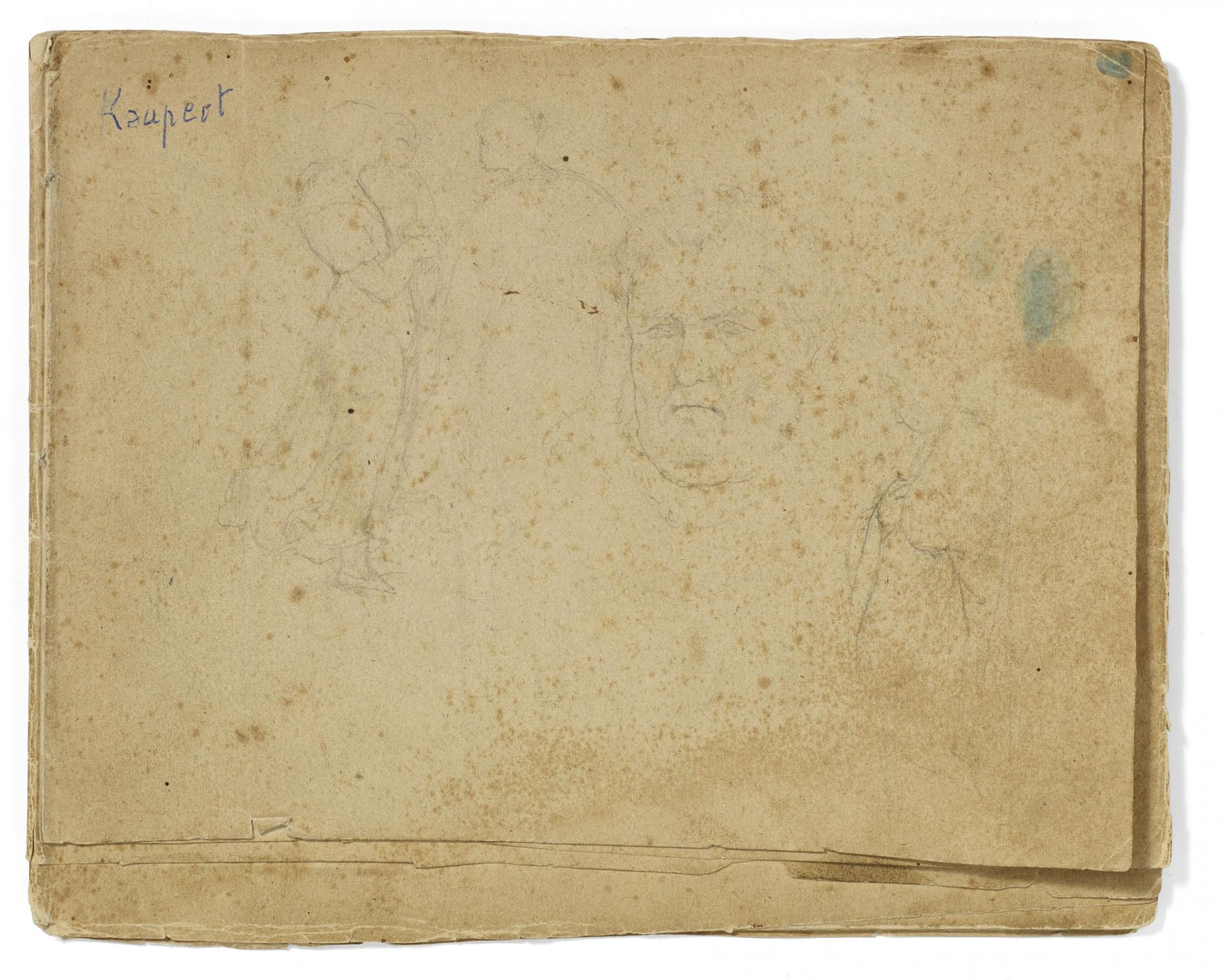 Kaupert, Gustav Kassel 1819 - 1897  Sketchbook, two booklets, each ca. 17 pages. Architectural - Bild 7 aus 8