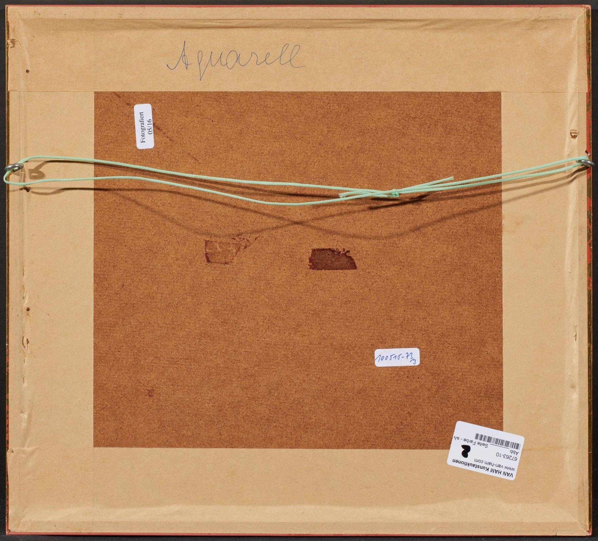 Englischer Meister. um 1900. Drei Aquarelle: Gänse und Enten. Jeweils: Aquarell auf Papier. - Bild 7 aus 11