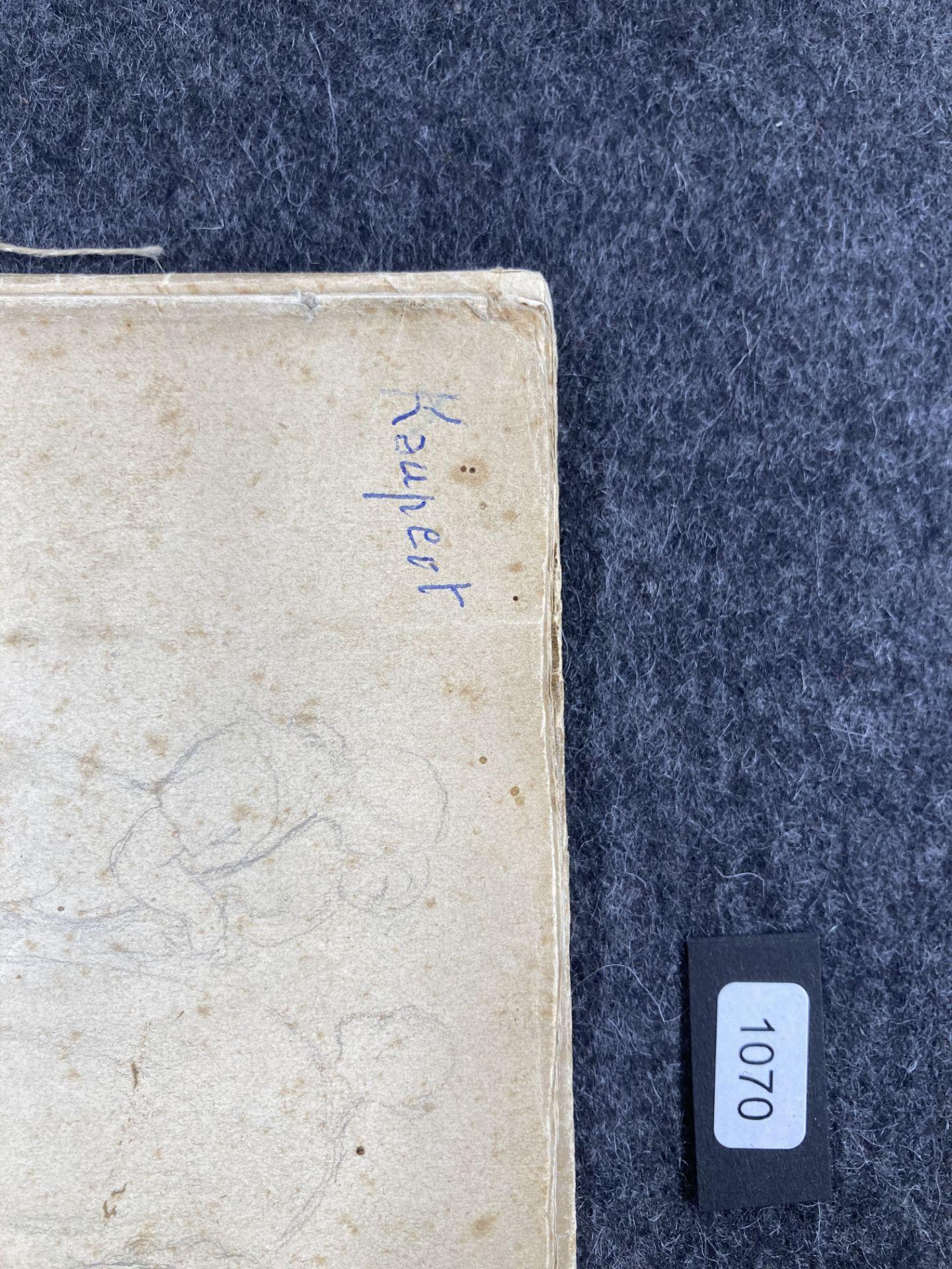 Kaupert, Gustav Kassel 1819 - 1897  Sketchbook, two booklets, each ca. 17 pages. Architectural - Bild 8 aus 8