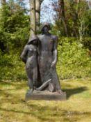 Adam et Ève (variante, grand modèle)