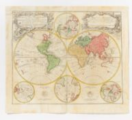 WELTKARTE - PLANIGLOBII TERRESTRIS MAPPA UNIVERSALIS