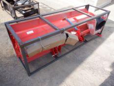"Unused 2021 Mower King TAS-81 72"" Roto Tiller"