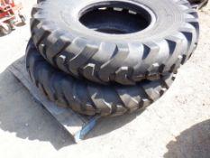 (2) Unused Loadmaxx 14.00-24 TG/G2 Loader Tires.