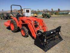 2019 Kubota L2501D Agricultural Tractor,