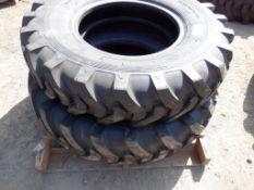 (2) Unused Loadmaxx 13.00-24 TG/G2 Loader Tires.