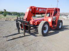 2001 JLG SkyTrak 8042 Forward Reach Forklift,