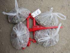 (2) Unused 2020 Ratchet Cargo Binders,