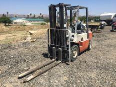 Nissan 50 Industrial Forklift,