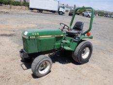 John Deere 855 Agricultural Tractor,