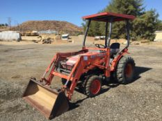 Kubota B21 Agricultural Tractor,