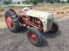 Vintage Ford Agricultural Tractor,