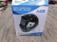 Unused 2021 Auto-Darkening Welding Helmet.