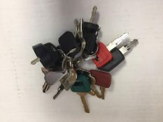 (24) Unused Equipment Master Keys,