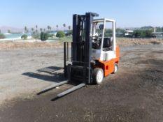 Nissan 25 Industrial Forklift,