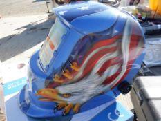 Unused 2021 Auto Darkening Welding Helmet.