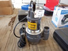 "Unused 2021 Mustang MP4800 2"" Submersible Pump,"