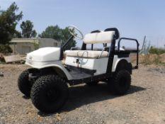 Yamaha 4-Passenger Golf Cart,