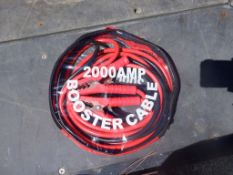 2000 AMP Booster Cables.