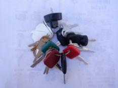 (24) Heavy Equipment Master Keys.