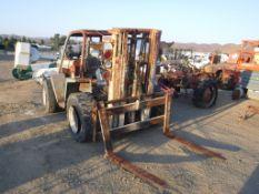 Wiggins Rough Terrain Forklift,