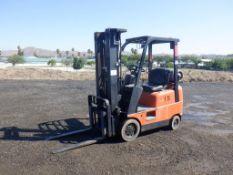Toyota 7FGCU15 Industrial Forklift,