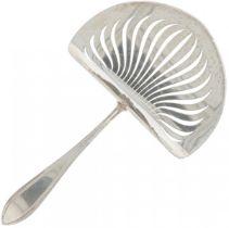 Asparagus spoon silver.