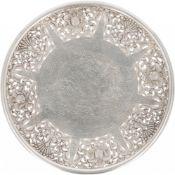Fruit bowl silver.