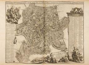 F. Desseine, Beschryving van Oud en Niew Rome. 3 Bde. und Supplementband in 4 Bdn. Amsterdam 1704.