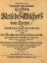 J. de Bourges, Erzehlung von der Reise des Bischofs von Beryte. Lpz. 1671.