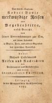 W. R. Chetwood, Des Schiffs-Kapitains Robert Boyle merkwürdige Reisen. Lpz 1793.