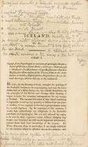 E. Henderson, Iceland, or the journal of a residence. Edinburgh u. Ldn. 1819.