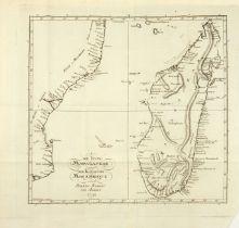 A. M. de Rochon, Reise nach Madagaskar .. Bln. 1792. / angeb.: W. Lempriere, Reise von Gibraltar übe
